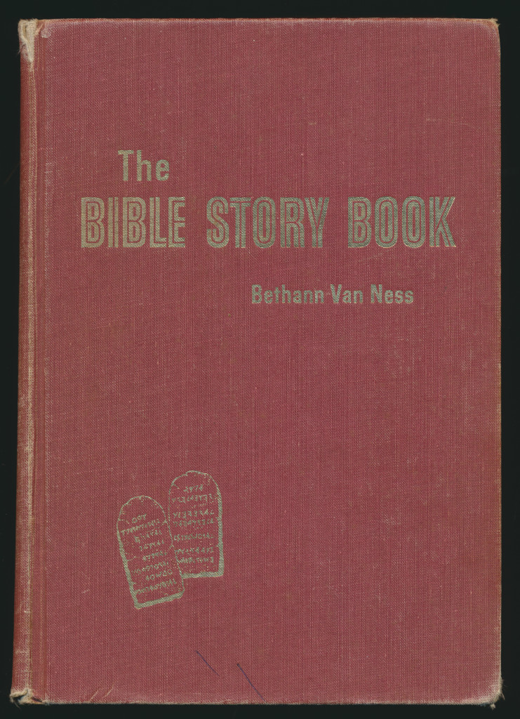 Bible Story Book cover Bethann Van Ness