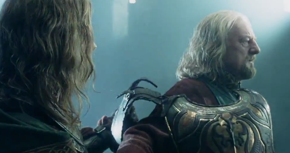 LOTR Theoden Who am I