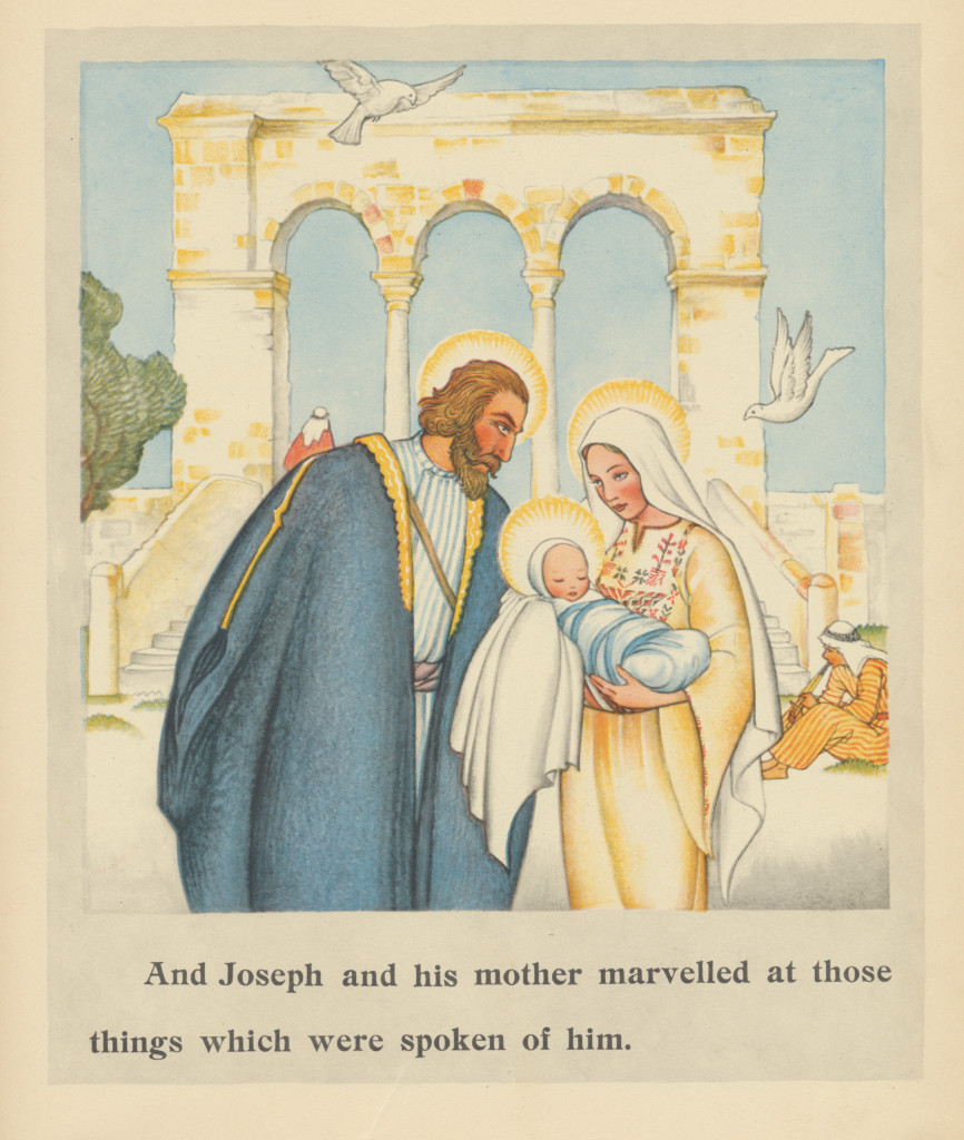 The Christ Child Maud and Miska Petersham Doubleday and Co., Inc, 1931.