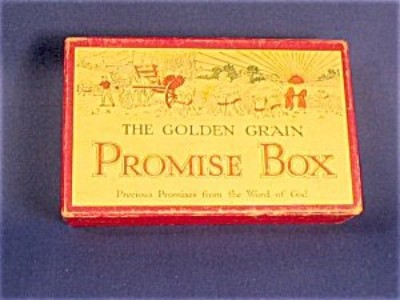 Golden Grain Promise box yellow red