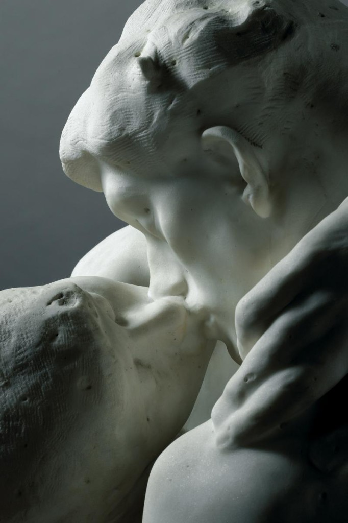 Auguste Rodin, The Kiss, detail Image: Musée Rodin