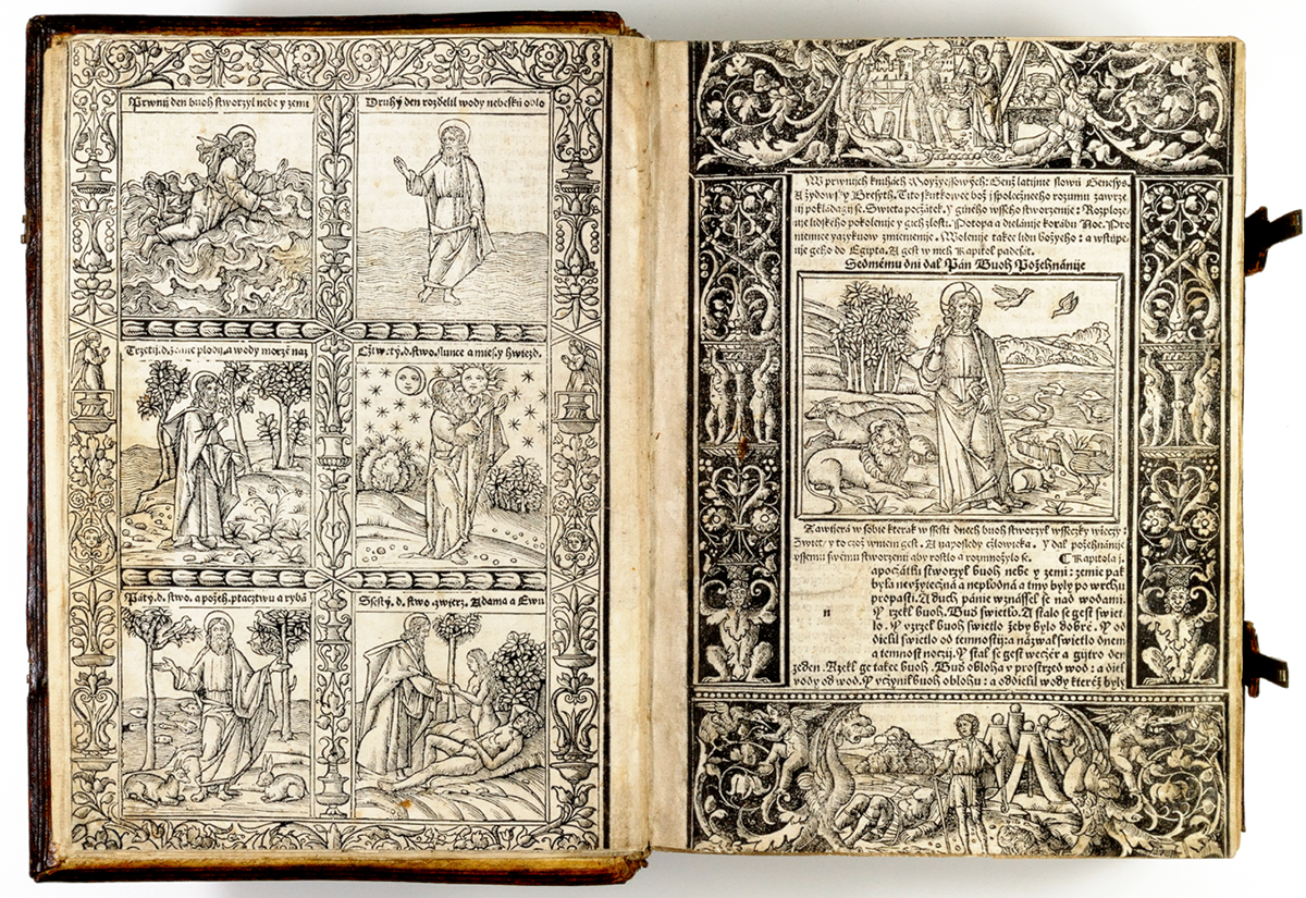 Czech Bible, 1506 Bridwell Library, SMU