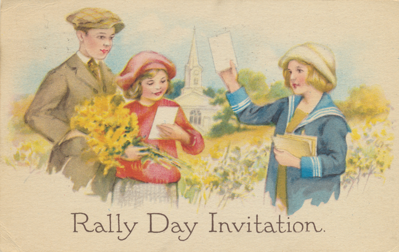 Rally Day Invitation 1923 crop rsz